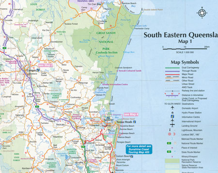 Map Of South East Queensland South Eastern Queensland Map 431 Edition 4 UBD Gregorys | Maps