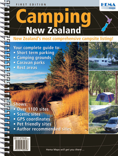 New Zealand Camping Atlas 2007 Edition