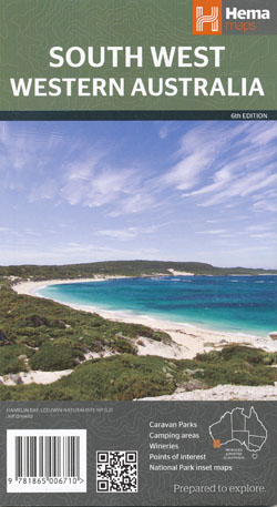 South West Western Australia Map Hema